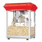 Red Roosevelt 8 Ounce Antique Bar Style Popcorn Machine