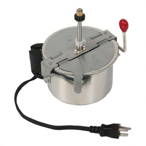 2.5 Ounce Popcorn Kettle for Great Northern Popcorn Machines Stainless Steel
