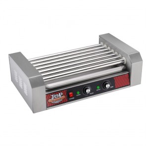 Great Northern Popcorn Commercial 18 Hot Dog 7 Roller Grilling Machine 1400Watts