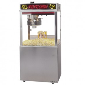 Gold Medal 20 oz. Astro Popcorn Machine w/Neon and Base