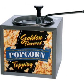 Gold Medal Topping Dispenser w/Pump