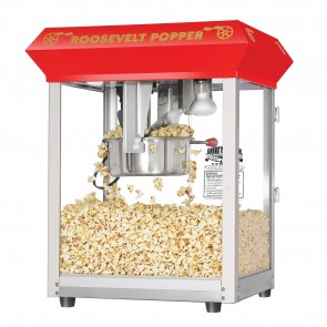 "Red Bar Style ""Roosevelt"" 8 Ounce Antique Popcorn Machine (Bar Style)"