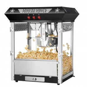 Black Paducah 8 Ounce Bar Style Antique Popcorn Machine