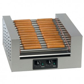 Gold Medal Double Diggity 14 Roller Hot Dog Grill