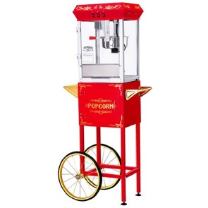 Great Northern Popcorn GNP-800 8 Ounce All-Star Popcorn Popper Machine & Cart
