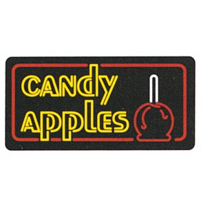 Gold Medal Candy Apples Lighted Sign