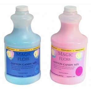 Paragon Strawberry Cream Flavor Magic Floss (4 lb easy-pour bottle) 7823