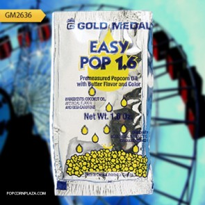 Gold Medal Easy Pop Oil Pouches