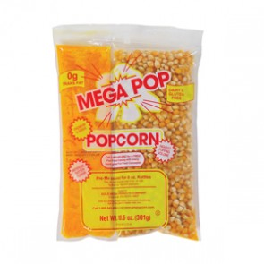 Gold Medal MegaPop® Corn/Oil Salt Kits for 8oz Kettles, 24 per case