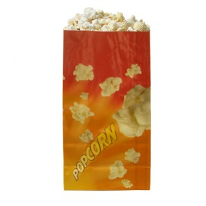 Gold Medal 46 oz. Laminated Popcorn Bags, 1,000/cs