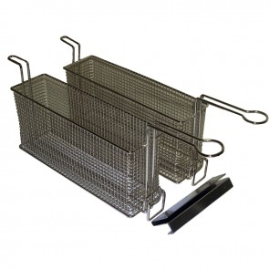 Gold Medal Twin Baskets for Small Fryers 8048D and 8047D