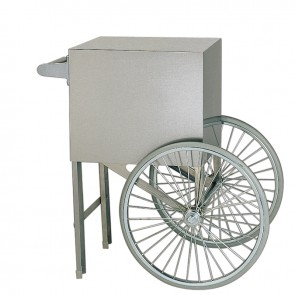 "Gold Medal 18"" Popcorn Cart, Stainless Steel"
