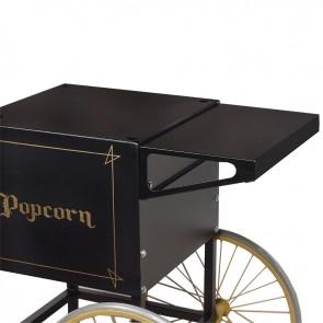 Gold Medal Shelf for 2649 Popcorn Cart, Black