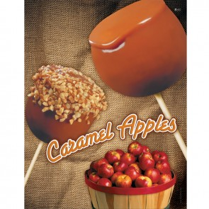Gold Medal Caramel Apple Poster Laminated