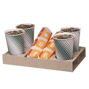 Gold Medal Carry-Out Trays, 250/cs