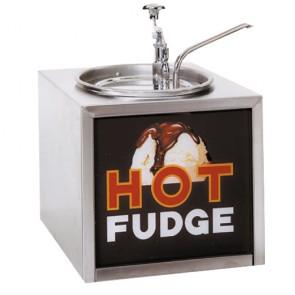 Gold Medal Hot Fudge Warmer, Pump