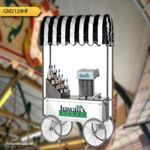 Gold Medal Shave Ice Wagon, White