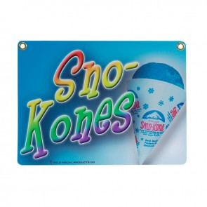 Gold Medal Heavy Duty Sno-Kone® Sign