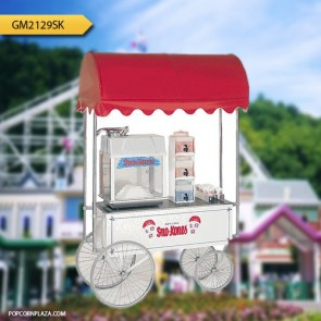 Gold Medal Sno-Kone Wagon, White