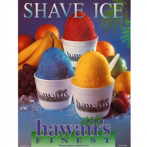 Gold Medal Hawaii`s Finest Shave Ice Poster