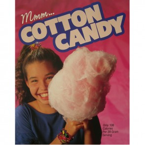 Gold Medal Cotton Candy Poster Large