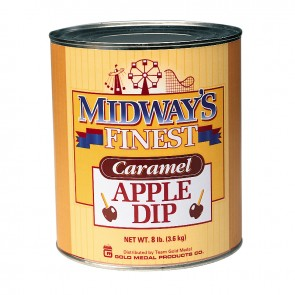 Gold Medal Midway`s Finest Caramel Apple Dip, 6-10 cans/cs