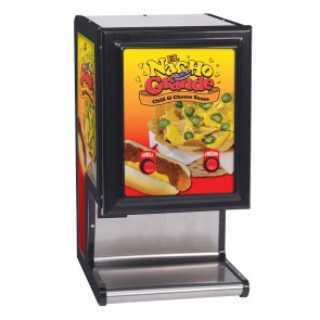 Gold Medal Dual Cheese & Chili Dispenser