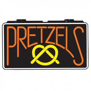 Gold Medal Pretzel Lighted Sign