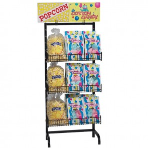 Gold Medal 5 Adj Shelves Display Rack