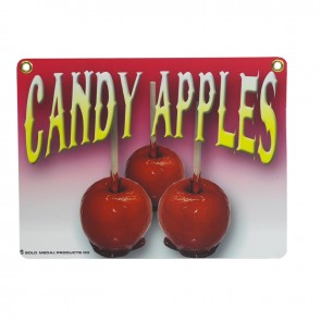 Gold Medal Heavy Duty Candy Apple Sign