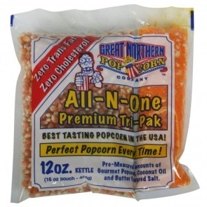 Case (24) of 12 Ounce Great Northern Popcorn Portion Packs