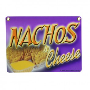 Gold Medal Heavy Duty Nacho Sign