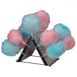 Gold Medal Compact Counter Top Display for Cotton Candy Cones