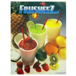 Gold Medal Frusheez® Slush Poster