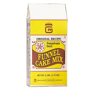 Gold Medal Pennsylvania Dutch Funnel Cake Mix, 6-5lb. Bags/cs