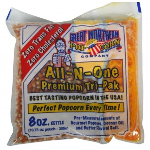 Case (24) of 8 Ounce Great Northern Popcorn Portion Packs