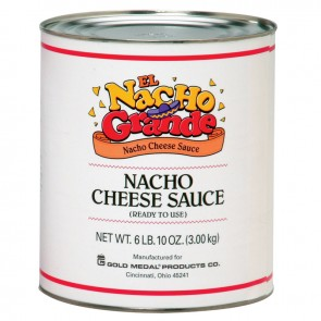 Gold Medal El Nacho Grande Nacho Cheese, 6-10 Cans/cs