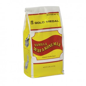 Gold Medal Vanilla Waf-A-Cone Mix Six 5lb Bags/cs