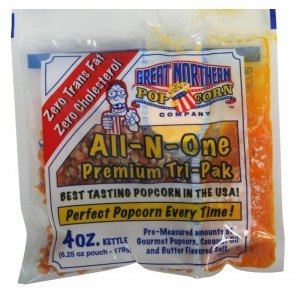 Case (24) of 4 Ounce Great Northern Popcorn Portion Packs