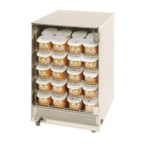 Gold Medal Cheese Display Case, holds 80 portion paks