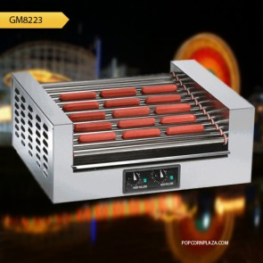 Gold Medal 14 Roller Hot Dog Grill