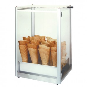 Gold Medal Waffle Cone Display Case