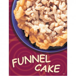 Gold Medal Funnel Cake Poster