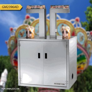 Gold Medal Twin Tower Illuminated, Self Serve Topping Dispenser