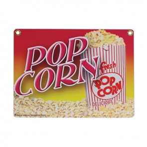 Gold Medal Heavy Duty Popcorn Sign