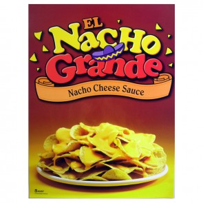 Gold Medal Nachos on Plate Poster