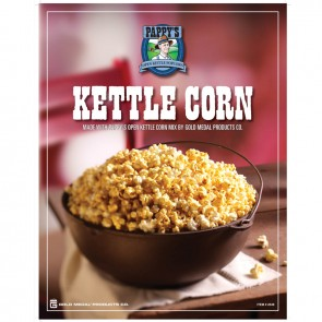 Gold Medal Pappy`s Kettle Corn Poster